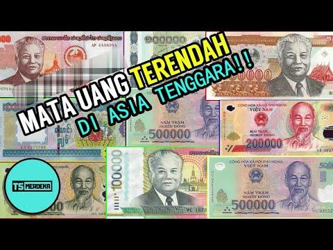 5 Mata Uang Dengan Nilai Terendah Di Asia Tenggara !!