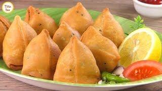 Aloo Samosa/ Punjabi Samosa/ Bengali Singara Recipe by Tiffin Box |  samosa recipe with frozen tips