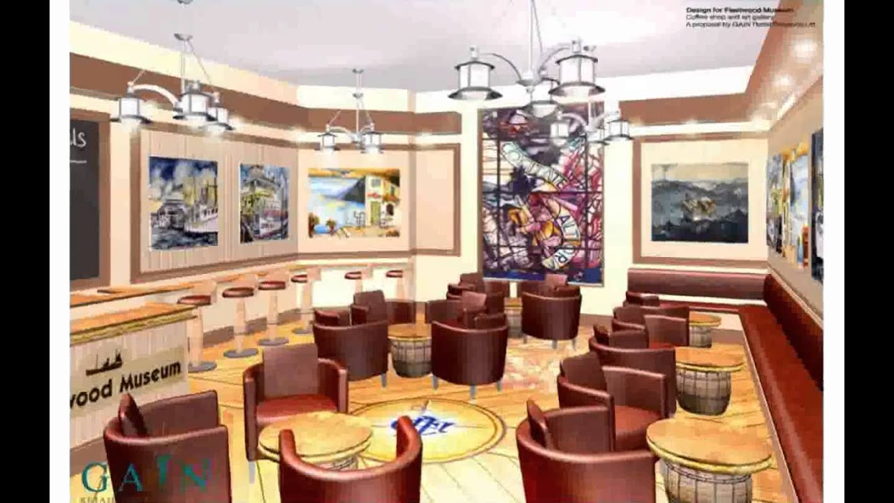 Cafe design concepts youtube for Brilliant cafe interior design ideas