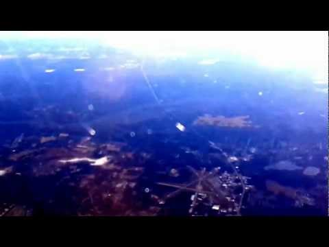 Orlando-to-Toronto flight: takeoof, St. Augustine Beach, Jacksonville Beach, landing 2013-02-04