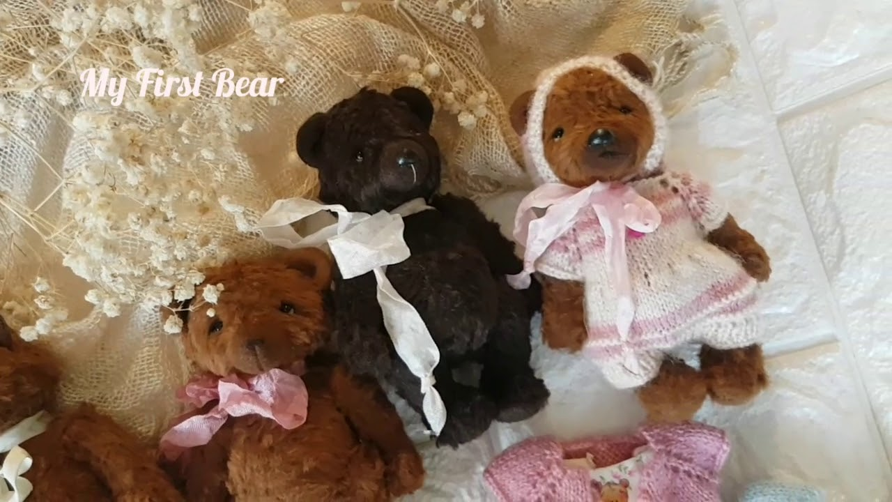 My First Teddy - Мои Мишки Тедди - Мой Первый Мишка