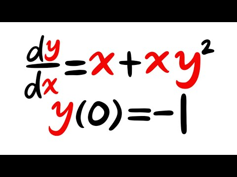 Separable Differential Equations (idea/strategy/example)