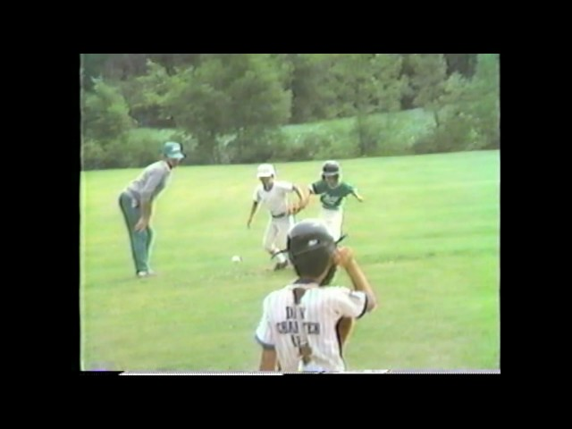 Rouses Point - Chazy Grasshopper Baseball  7-13-86