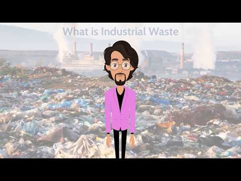 An Abstract of Industrial Waste Management.