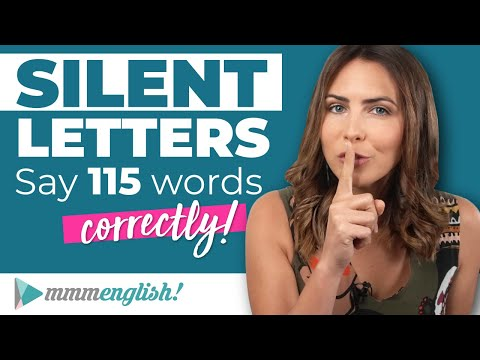 Silent Letters in English   Pronunciation Practice