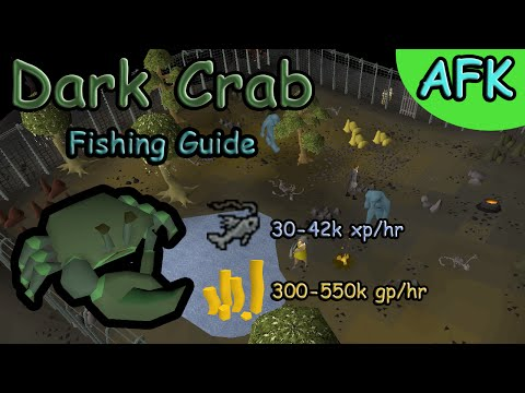 Oldschool Runescape | Dark Crab Fishing Guide + Tips