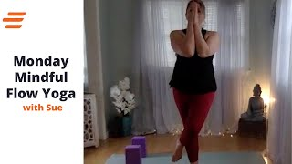 BE WELL LIVE CLASS MINDFUL MONDAY YOGA: With Sue 45 Min