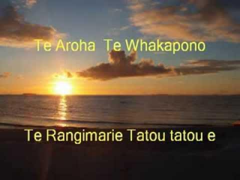 Te Aroha von der CD Pangeachants von Wolfgang Kremmel