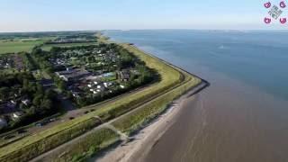 Camping Ardoer Scheldeoord Zeeland by drone