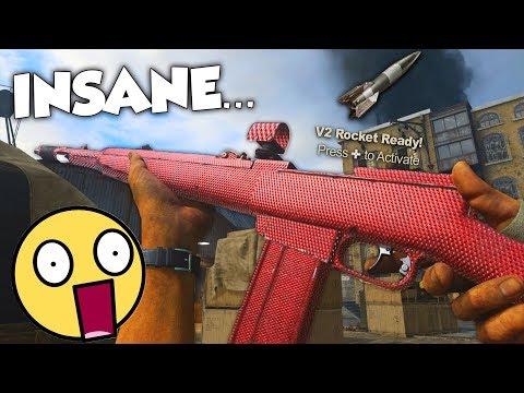 the NEW DLC ONE BURST GOD GUN...(MUST HAVE) - COD WW2