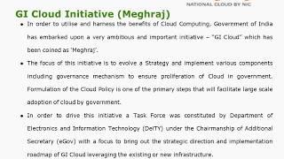 2018-What is Meghraj- GI Cloud?