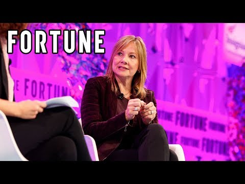Mary Barra Discusses GM's Role With Autonomous Driving | MPW 2017