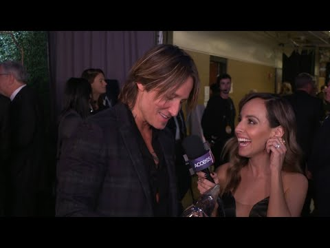 CMAs 2018: Keith Urban On Winning Entertainer Of The Year | Access