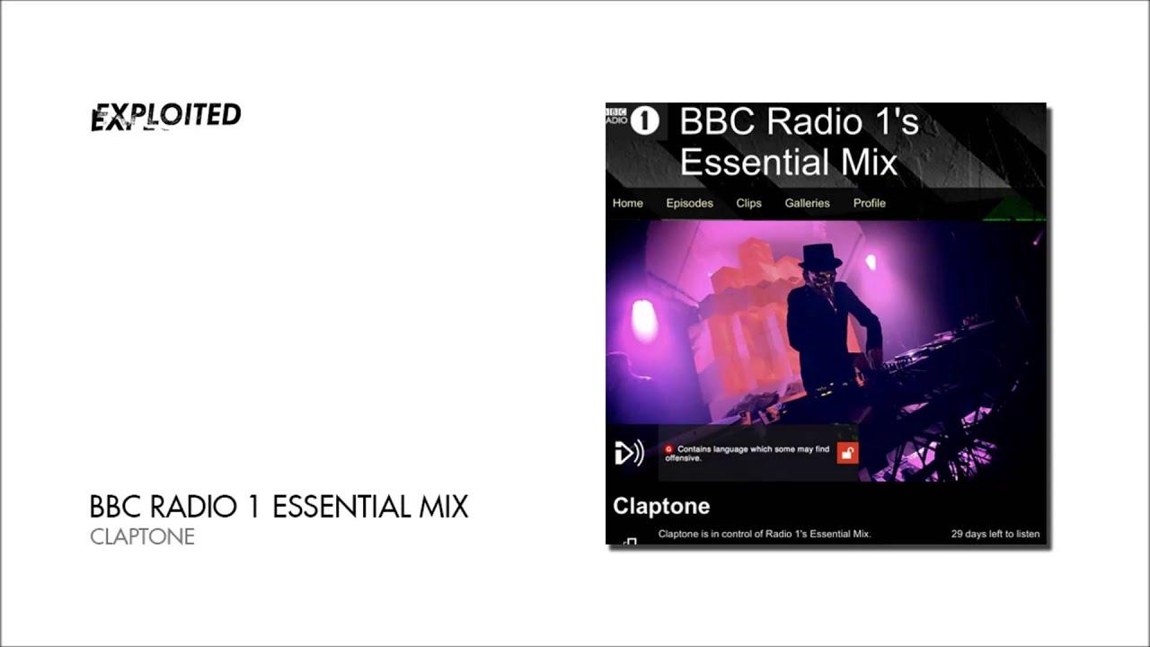 Claptone - Essential Mix BBC Radio 1   Exploited - YouTube