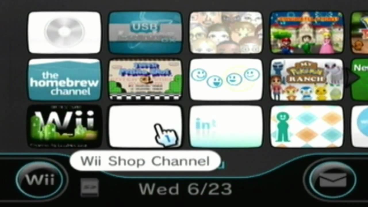 Updating wii homebrew channel