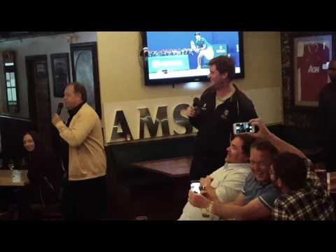 Karaoke at Mitchell's Bar, the Q and A Waterfront, Cape Town, SA