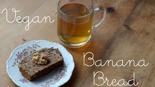 Vegan Banana Bread  ✿ The Rabbit Buffet
