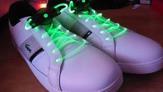 #101.2 Обзор светящихся шнурков с Китая,