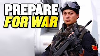 """China Must """"Prepare for War:"""" Xi Jinping   India and China Military Build Up"""