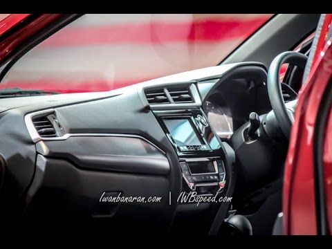 Honda BR-V interior video - YouTube