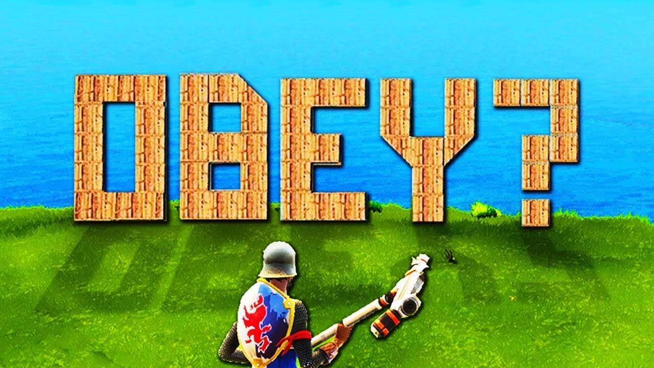 RECRUITING THE FIRST #OBEYRC WINNER ON FORTNITE ft  Puggy & Rapids! (Funny  Battle Royale Moments)