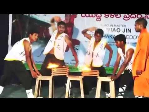 India Shaolin Wushu Warrior Camp in Teach Shifu Prabhakar Reddy Best Wing Chun Nellore