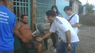 """EN SOCOPÓ , BARINAS y VENEZUELA """"HAY UN CAMINO"""" CAPRILES PRESIDENTE"""