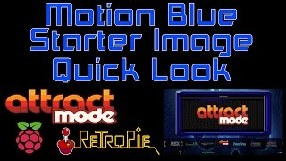 Motion Blue Attract Mode Starter Image By David Marti Quick Look