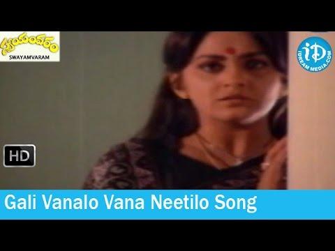 swayamvaram-movie-songs---gali-vanalo-vana-neetilo-song---shoban-babu---jayapradha---sathyam-songs