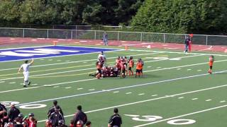 Federal Way Hawks 12 vs. Kent Knights 13 (October 2, 2011).mp4