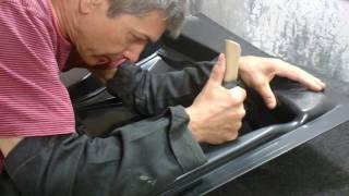 видео Как установить воздухозаборник на капот?