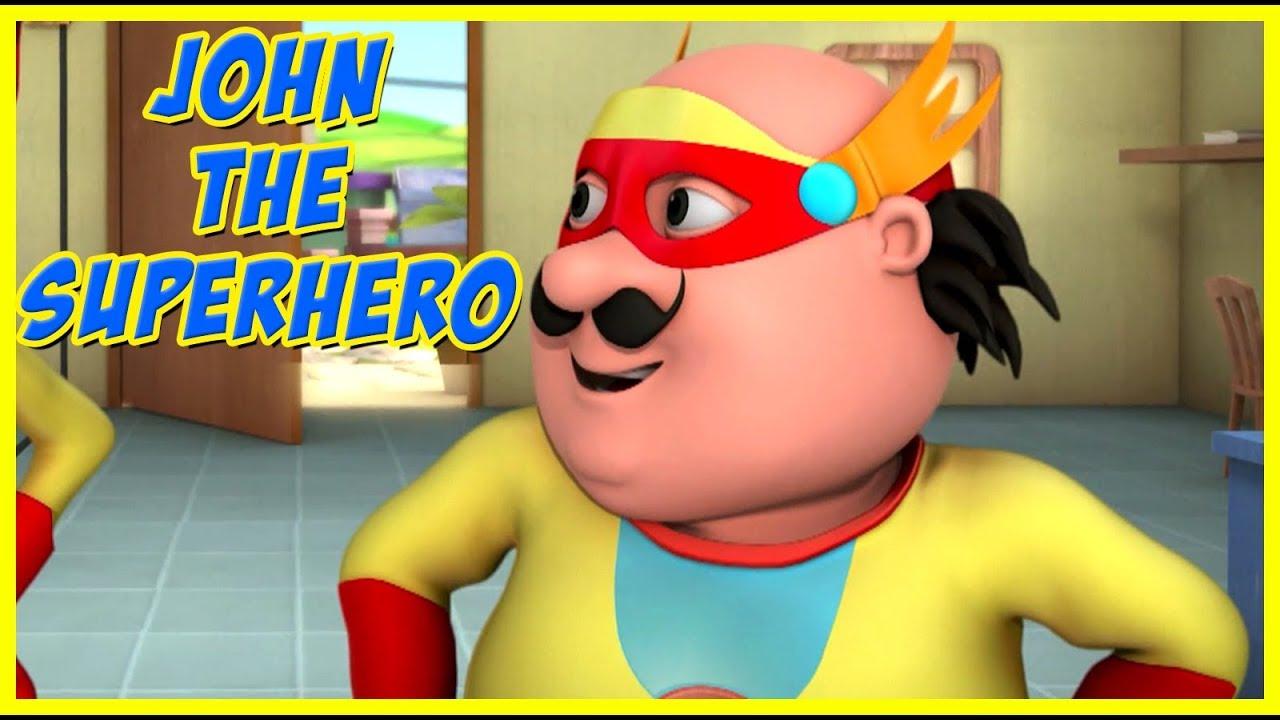 Download Motu Patlu | John The Super Hero | Motu Patlu in Hindi