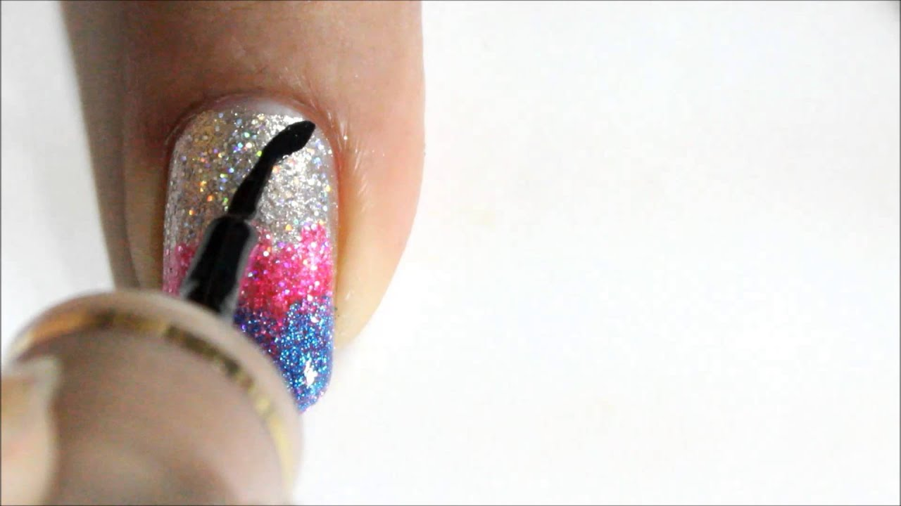 Ombre Nails Without Sponge Tiger Nail Art Easy Nail Designs