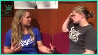 ronda rousey ufc bullied but not broken episode 1
