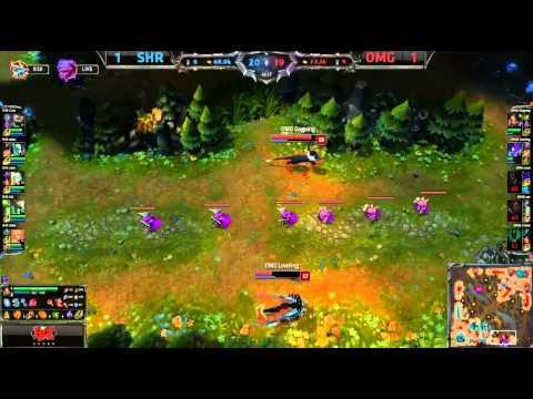 Insec's Fiddlesticks | OMG vs SHR | Game 3  /w Epic Ending (10/12/14)
