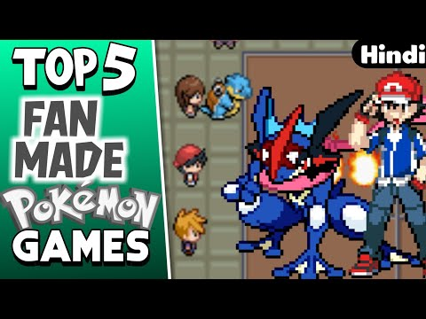 Top 5 Fan Made Pokémon Games For GBA