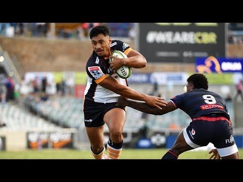 2020 Super Rugby Round Two: Brumbies vs Rebels