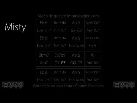 Misty : Backing track