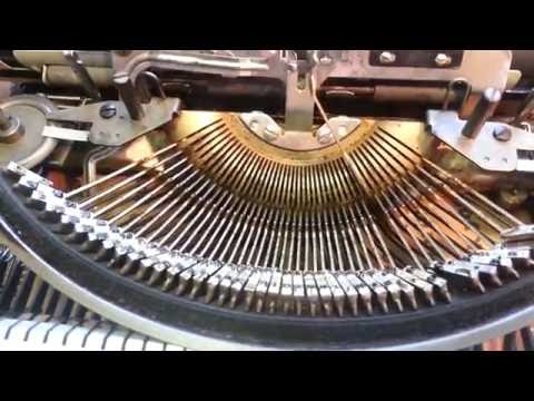 Sticky Typewriter Keys Repair Flush Type Segment DIY Hermes Clean