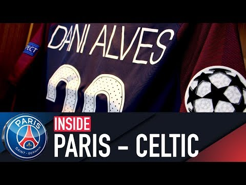 INSIDE - PARIS SAINT-GERMAIN vs CELTIC FC (⚽️7-1) with Neymar Jr