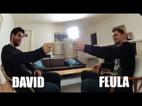 Grimm Star and my BFF - David Giuntoli & Flula Interview