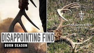 Disappointing Find, Burn Season | Midwest Whitetail