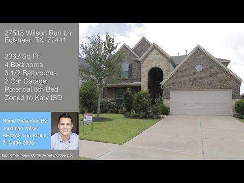 27518 Wilson Run Ln Fulshear, TX 77441