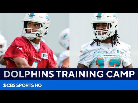 2021 Dolphins Training Camp: Tua Tagovailoa, Jaylen Waddle, & MORE   CBS Sports HQ