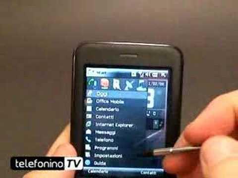 HTC P3470 videoreview da telefonino.net