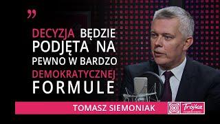 Tomasz Siemoniak: intencje są złe. Stanisław Karczewski broni przegranej sprawy