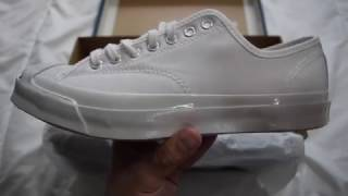 1 Minute Unboxing - Converse Jack Purcell Signature OX (White)