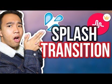 MUSICAL.LY SPLASH TRANSITION TUTORIAL! *NEW*