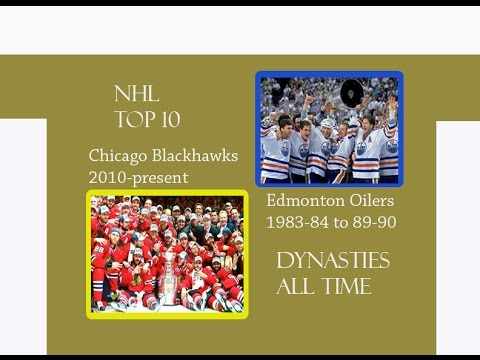 NHL TOP 10 DYNASTIES ALL TIME