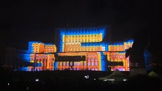 iMAPP  3D Projection Bucharest 555 years Romania (Part 2)